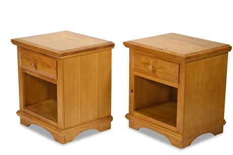 Pair Nightstands by Tradewins
