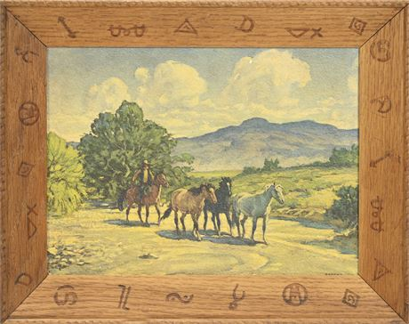 """Silver Creek"" Print on Panel by Strang"