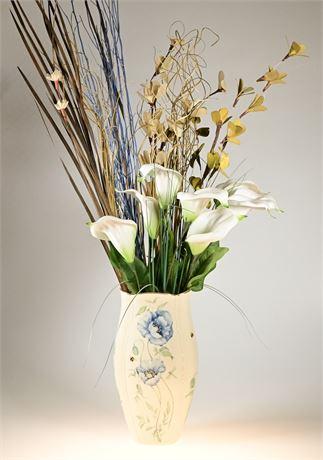 Lenox Vase with Arrangement