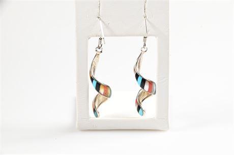 Zuni Edaakie Swirl Earrings