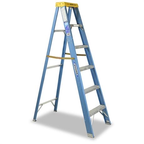 6' Fiberglass Werner Ladder