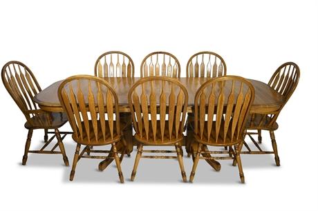 Classic Solid Oak Dining Set