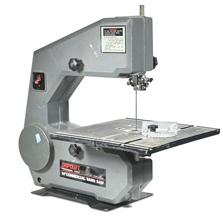 """Shopcraft 14"""" Commercial Band Saw"""