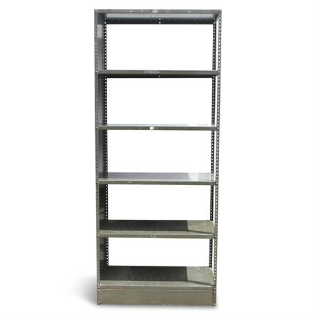 Government Issued Heavy Metal Shelving