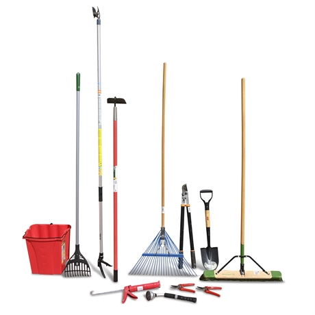 (12) Piece Lawn and Garden Tools