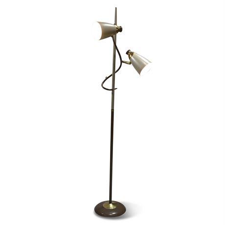 Mid-Century Posable Floor Lamp