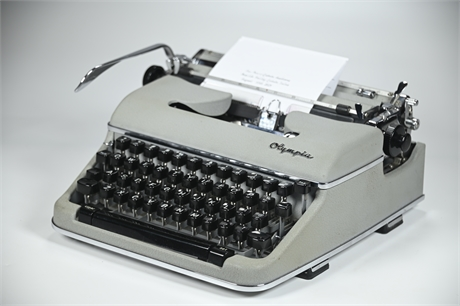 1960's Olympia Typewriter