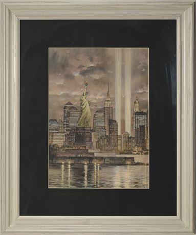 9-11 Tribute Art