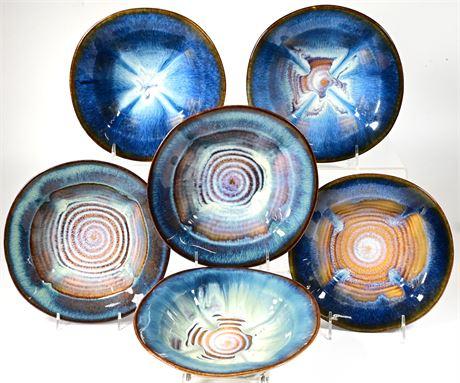 Bill Campbell Stoneware Bowls