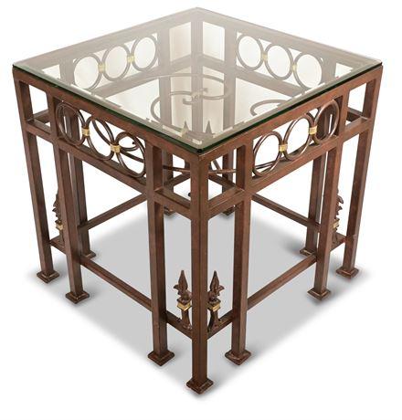 Touchstone Iron Side Table
