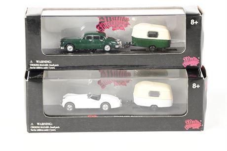 Malibu High Speed Jaguars + Caravans