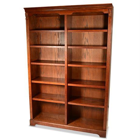 Quality Oak Bookcase