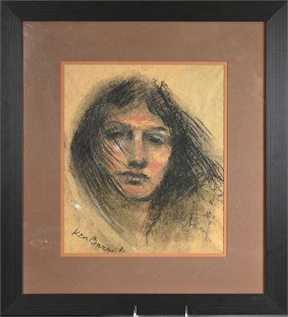 Original Ken Barrick Portrait