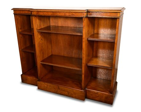 Classic Breakfront Bookcase