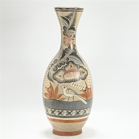 Vintage Large Tonala Pottery Vase