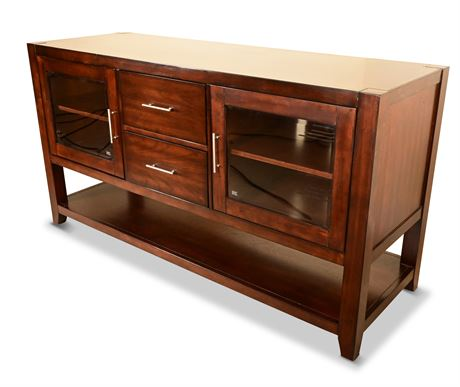 """60"""" Media Console with Storage"""