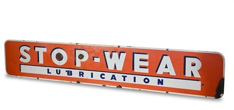 Stop-Wear Lubrication Union Gas Porcelain Sign