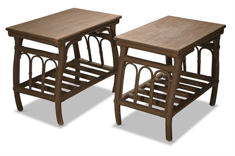 Rattan Puyat Side Tables