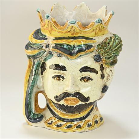 "Sicilian Ceramic ""Moor's Head"""