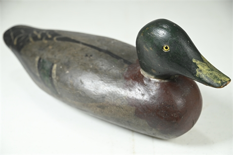 Antique Decoy Wood Duck