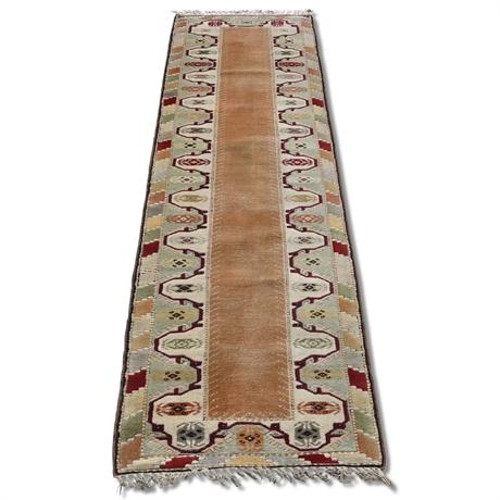 Turkish Woven Wool Runner
