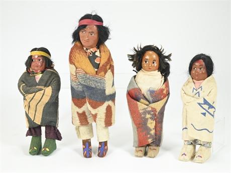 Vintage Skookum Bully Good Dolls