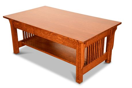 Amish Lift Top Cocktail Table