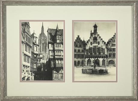 Römer Frankfurt Framed Photograph