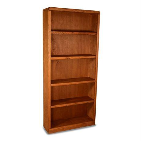 Classic Oak Bookcase