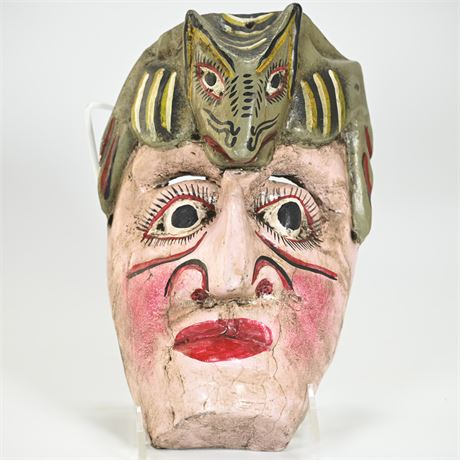 Vintage Mexican Folk Art Mascara