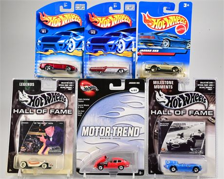 (6) Hot Wheels Hall of Fame and Others