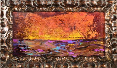 "Susan Loverin Original Oil ""Enchanted Sunset II"""