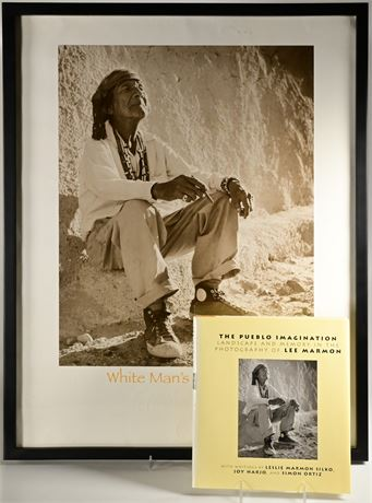 "Lee Marmon ""White Man's Moccasins"" Print and Book Set"