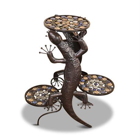 Lizard Plant Stand