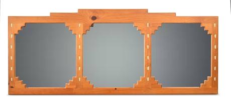 Santa Fe Rustic Triptych Mirror