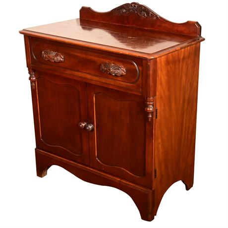 Victorian Style Commode/Entrance Chest