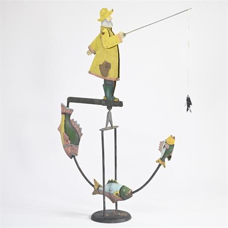 Fisherman Pendulum Balance Toy