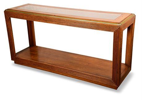 Oak Entry/Sofa Table