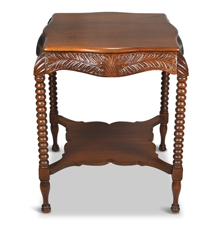 Ornate 1890's Parlor Table