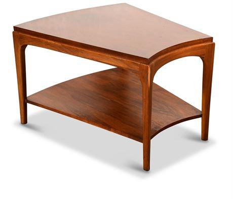 Mid-Century Lane Rhythm Wedge End Table