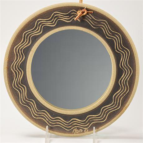 Stoneware Mirror