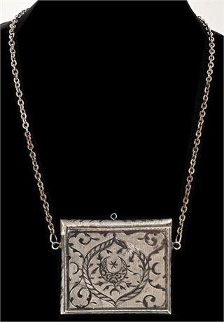 Engraved Taj Mahal Cigarette Case