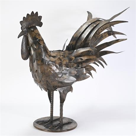 "18"" Metal Rooster"