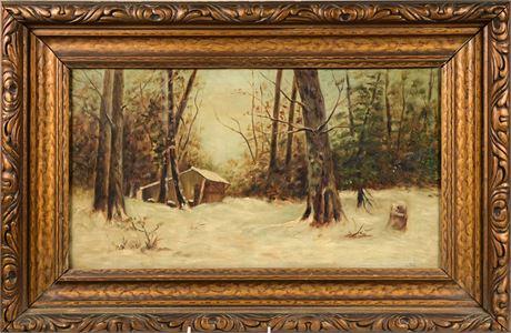 Turn of the Century Winter Landscape