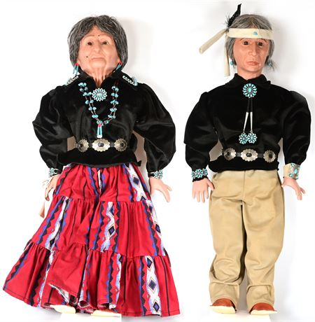 Navajo Dolls by Cheryl Yazza
