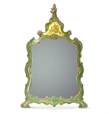 Antique Venetian Rococo Style Mirror