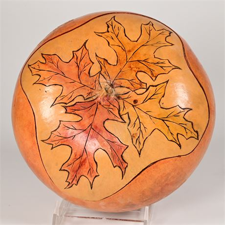 Artist Crafted Gourd Bowl