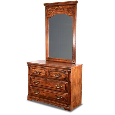 Lea Furniture Dresser with Mirror