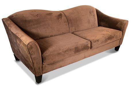 Double Camelback Sofa