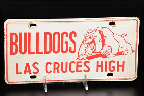 1970's Las Cruces High Plate